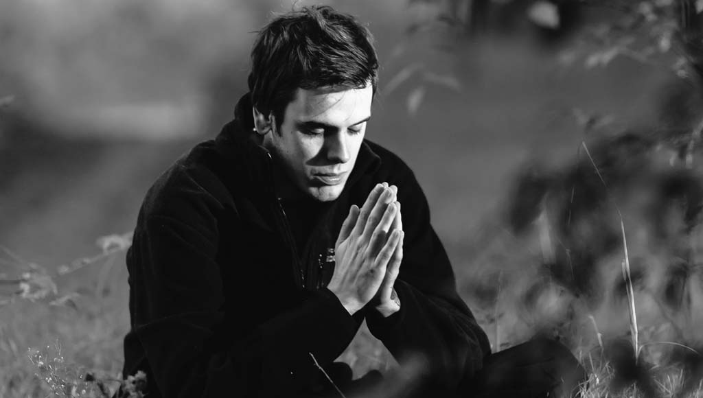 Prayer is calming